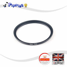 New 72-77mm Metal Stepping Step-Up Ring Camera Filter Lens Adapter DSLR SLR