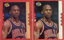 1995-96 SP Championship Shots GOLD & SILVER Die-Cut #S16 Michael Jordan LOT!