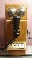 Jim Beam Telephone Pioneers Liquor Decanter 1907 Replica 1975 Handcrafted Empty