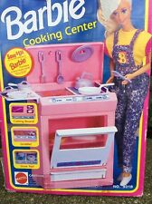 Vintage Barbie Sweet Roses Kitchen Cooking Center Mattel 1992 Barbie Furniture