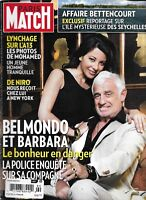 Paris Match Magazine Jean Paul Belmondo Liliane Bettencourt Robert DeNiro 2010