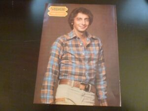 Barry Manilow Vibes Magazine Page Ad Advert