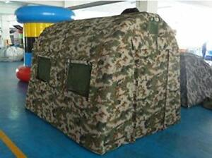AIR TIGHT WATERPROOF Inflatable Hunting Duck Blind Ice Fishing Shanty Tent New