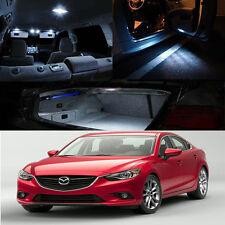 FOR 12-UP Mazda 6 Sedan Interior Xenon blue Color LED Bulb MAP DOME DOOR STEP