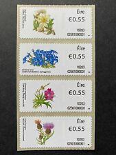 Ireland 2010 stamps Wild Flowers S5-S8