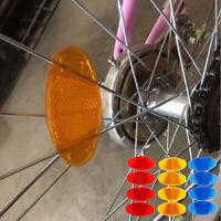 4pc Bicycle Pedal Reflector Safety Night Cycling Reflective DurableBDAU