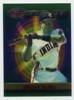 1994 Topps Finest ALBERT BELLE Rare BASE BASEBALL CARD #208 Cleveland Indians 94