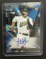 2020 Topps Finest Seth Brown Finest Firsts RC Auto  FFA-SB #'d /150 Oakland A's