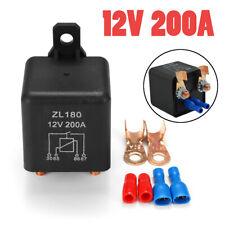 12V 200A Car Relays Auto Starter Relay Heavy Duty Split Normal Open Switcher