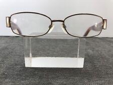 Via Spiga Eyeglasses Favaro 550 Zyloware 53-15-135 Brown Printed 6358