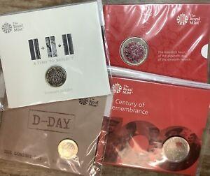 UK, Memorial Coins, (Remembrance)