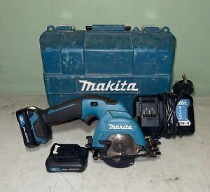 Makita HS301D CXT 10.8v Cordless Circular Saw Lithium Ion 2 x 2.0ah Batteries