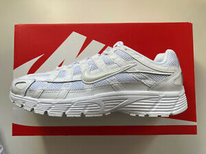 Womens Nike P-6000 Trainers Sneakers Casual Gym Retro Ltd Edition T WHITE 5.5UK