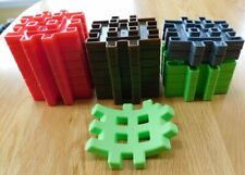 Little Tikes Waffle Blocks Building Replacement~Steam Train Set~Lot of 23 PC