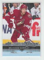 (70034) 2014-15 UPPER DECK YOUNG GUNS BRANDON GORMLEY #202 RC