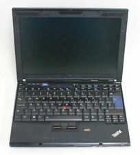 "LENOVO IBM ThinkPad X200S 12.1"" Screen 2GB RAM No HDD & Battery Portable Laptop"