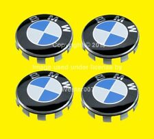 4GENUINE BMW Wheel Center Emblem Logo Hub Cap 1 2 3 4 5 6 7 x1 x3 x4 x5 x6 z3 z4