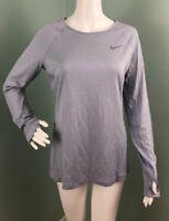 NWT Womens Nike L/S Dri-Fit Crew Merino Golf Shirt Sz M Medium