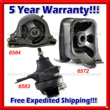K311 Fit 2000-2002 Honda Accord 2.3L Motor & Trans Mount Set 3PCS for AUTO TRANS