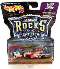 Vintage 1999 Hot Wheels Nascar Rocks America Two Rare Collectible Cars Lot