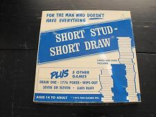 "Vintage 1975 Short Stud - Short Draw ""For the Man Who Doesn't Have Everything"""