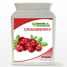 Cranberry 5000mg 90 Tablets Per Bottle  UK Vitamins Supplements