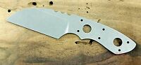 American made Custom Warncliffe knife blank N690 SS Rockwell 59-60 stone washed