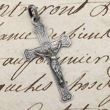Petite Croix Pendentif Argent - Religion Silver Cross Pendant
