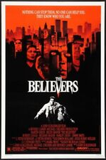 "THE BELIEVERS - 27""x41"" Original Movie Poster One Sheet 1987 Rolled Martin Sheen"