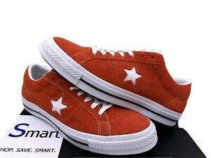 NIB Multi-Size MEN WOMEN Converse One Star Ox Red Suede Casual Shoes Sneakers