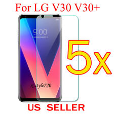 5x Clear LCD Screen Protector Guard Cover Shield Film For LG V30 V30+