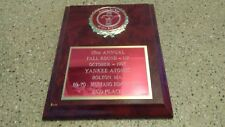 1995 Mustang Car Club of New England 2nd Place Award / Plaque