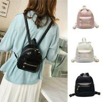 Small Gradient Backpack Girls Women School Bag Travel Rucksack Shoulder Bag