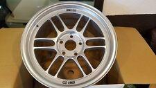 Enkei RPF1 17x9 5x114.3 +35mm Silver Finish. Set of 4 wheels