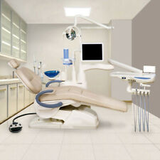 Dental Unit Chair Controlled Integral FDA CE approved F6 Model Synthetic leather