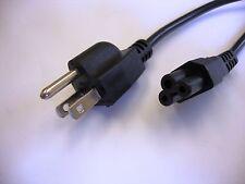 Enchufe de Red japonés Negro Cable de alimentación a C5 Conector de hoja de trébol (Japón)