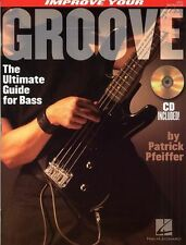 Improve Your Groove Learn to Play Bass Guitar Music Book & CD