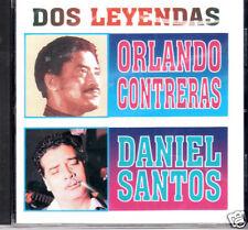 Orlando Contreras y Daniel Santos  Dos Leyendas   BRAND  NEW SEALED  CD