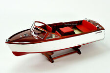 "Chris Craft Sea Skiff Handmade Wooden Boat Model 26"""