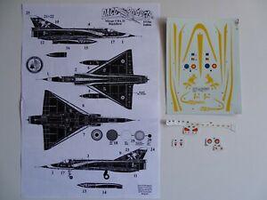 Daco decals 1/72 Mirage 5BA Special Scheme