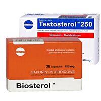 TESTOSTEROL 250 + BIOSTEROL Testosteron Booster 60 Kaps Probolan Testo Anabole