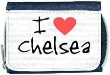 I Love Heart Chelsea Denim Wallet