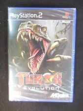 Turok Evolution de Acclaim para la Sony PS2 usado completo