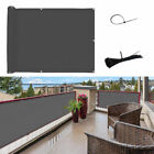 Privacy Fence WATERPROOF Mesh Panel Cover Balcony Shade Screen Patio Tape Strips