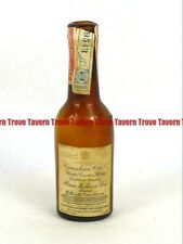 Dated 1942 CANADA Walkerville HIRAM WALKER CANADIAN CLUB WHISKY mini bottle