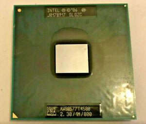 INTEL PENTIUM T4500 SLGZC MOBILE - 2,30GHz / 1MB / 800MHz - Sockel P #309