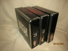 Rush Sector 1+2+3 Box Sets CDS + DVD's Digitally Remastered Geddy Lee Neil Peart