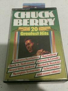 Chuck Berry 20 Greatest Hits Cassette Tape