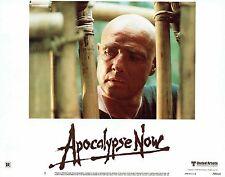 APOCALYPSE NOW, orig'l mint 1979 Lobby Card, MARLON BRANDO, Francis Ford COPPOLA