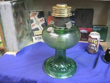 Scarce C-1935 Green ALADDIN Oil Lamp BEEHIVE Pattern Made 1935 to 1937 MODAL B